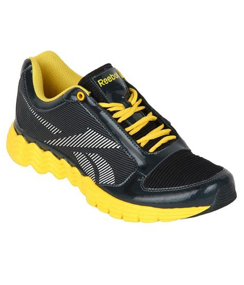 buy reebok black sport shoes for snapdeal