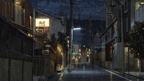 anime gif rain anime rain gifs tumblr