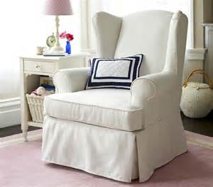 slipcovered wingback glider rocking chairs other metro
