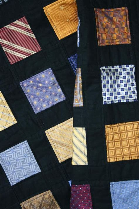 quilt pattern windowpane windowpane quilt from ties quilt designs pinterest