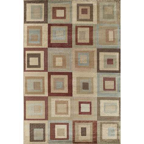 Common Area Rug Sizes Shop Rugs America Palmer Rectangular Indoor Woven Area Rug Common 8 X 11 Actual 94 In