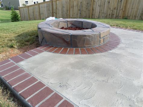 Concrete Fireplaces Bbq Grills Fire Pits Greenville Concrete Firepit