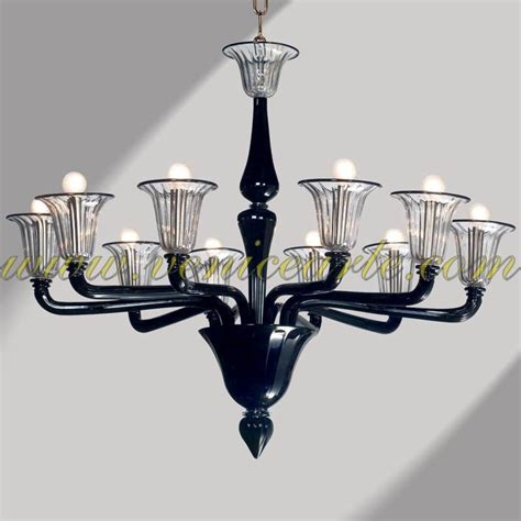 Murano Glass Chandelier Modern Palladio Murano Glass Chandelier