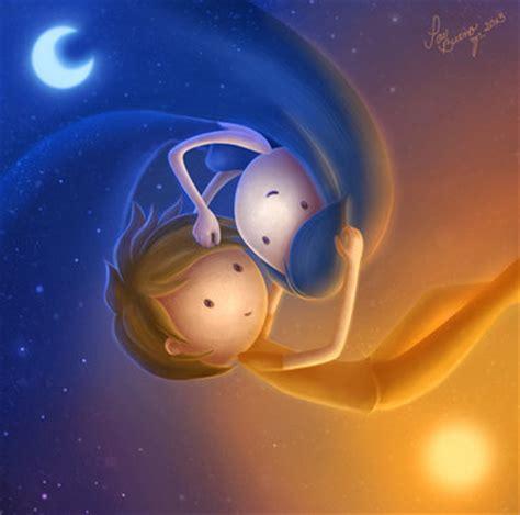 imagenes del sol y luna juntos sol y luna by paubuenoz on deviantart