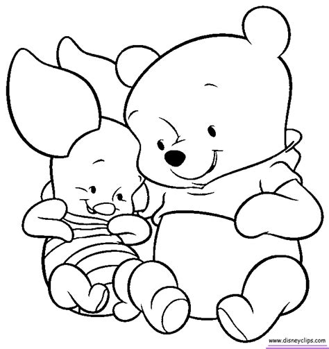 Baby Disney Characters Coloring Pages Coloring Home Baby Disney Characters Coloring Pages