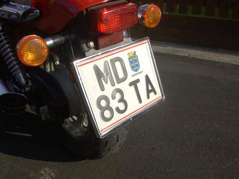 Kennzeichenhalter Motorrad Montieren by Meta Chrom Bike Car Verchromte Nummerntafelhalter