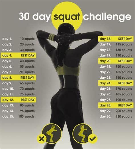 best 30 day squat challenge 25 best ideas about squat challenge on 30 day