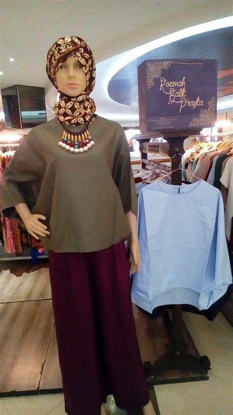 Celana Kulot Linen Motif Abstrak rumah batik praska kreasi fashion berciri khas etnik