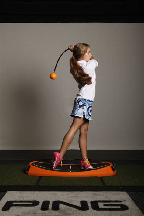 orange ball golf swing trainer orange whip swing trainer