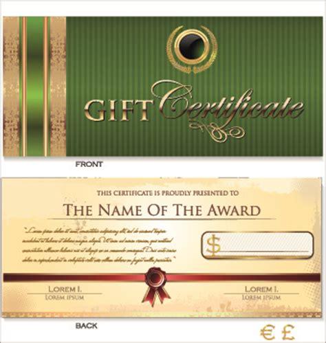 Graphic Design Gift Card Template Portfolio by Certificate Template Adobe Illustrator Free Vector