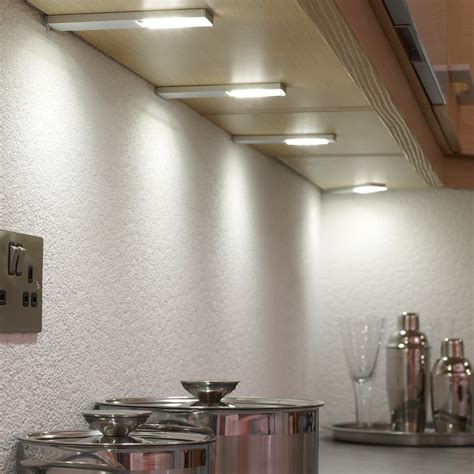 counter lighting kitchen quadra u led under cabinet light