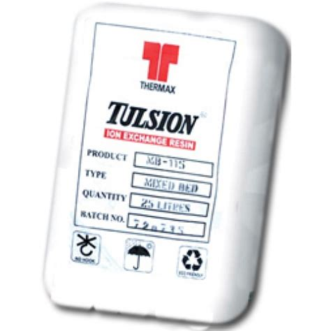 Resin Tulsion tulsion ion exchange resin 25 litre bag best price in the uk