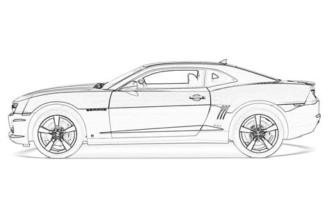 2010 camaro coloring pages coloring home