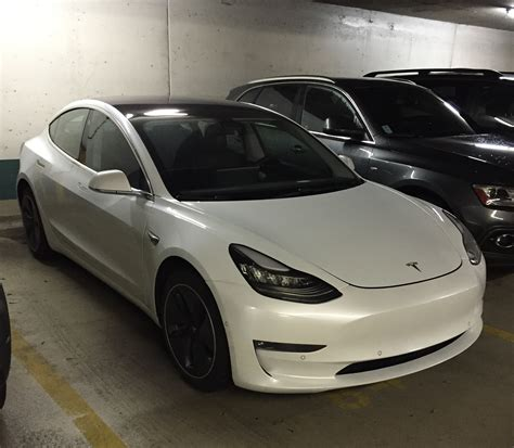 tesla manufacturer tesla model 3 with manufacturer plate makes its way to canada