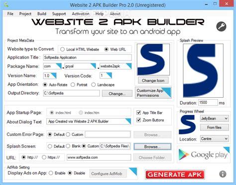 web to apk software untuk membuat aplikasi android untuk menilkan web anda website 2 apk builder isodl