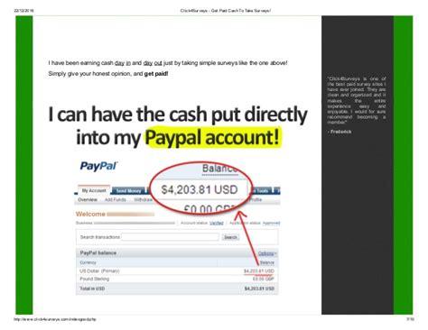 Get Paid Cash To Take Surveys - click4 surveys get paid cash to take surveys