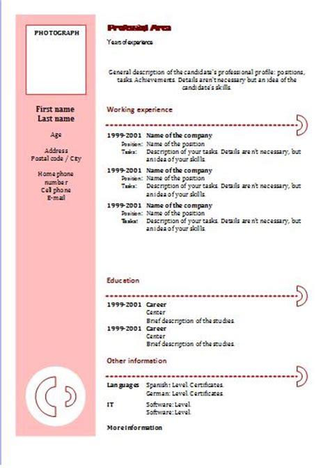 Modelo De Curriculum Vitae Para Completar E Imprimir Fotocopias Baratas Imprimir Curriculum Vitae Baratos