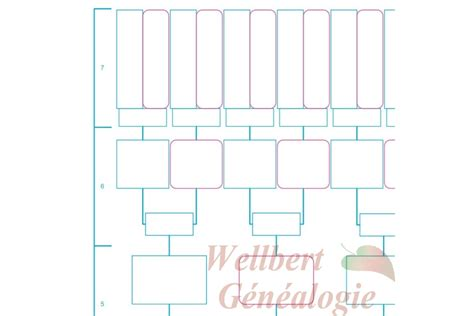 7 generation family tree template free family tree template 7 generations printable empty to fill