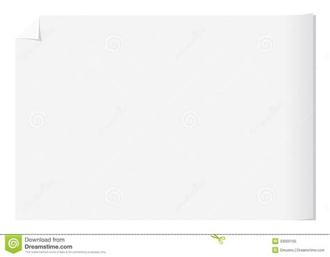 blank paper template sheet of white paper royalty free stock photo image