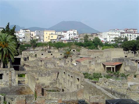 herculaneum or pompeii which is better conservation issues of pompeii and herculaneum