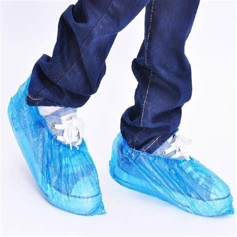 plastic shoe storage bags 100pcs waterproof shoes bag practical storage retail