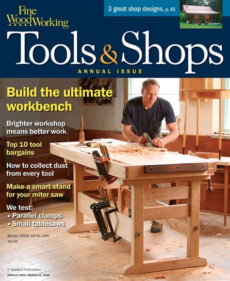 woodworkers book club 209 tools shops 2010 finewoodworking