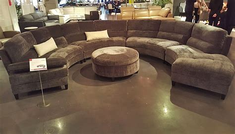 half circle sectional sofa sectional horizon home furniture