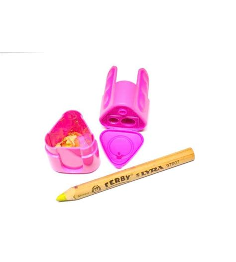 Lyra Sharpaner Two lyra groove 2 sharpener craft4kids australia