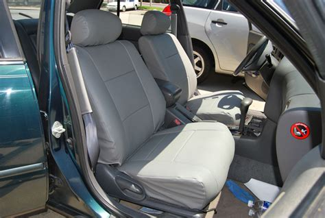 toyota camry leather seats toyota camry 1992 1996 iggee s leather custom fit seat cover 13colors available ebay