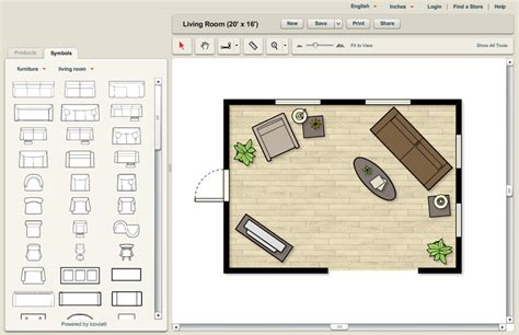 room layout planner icovia help