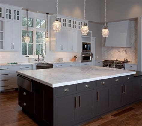 Kitchens Valley by Taj Mahal Quartzite Kitchen Islands Home