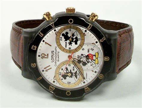 For New Cronograph disney mens mickey mouse chronograph new