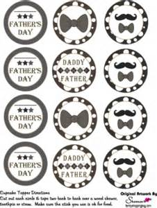 cupcake toppers father party decorations free printable ideas family shoppingbag