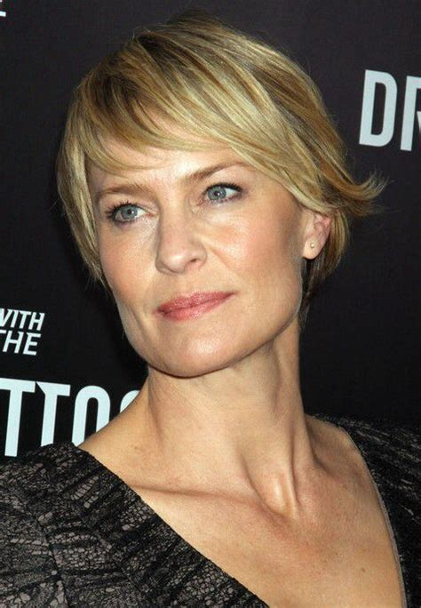 how to get robin wright pixie cut robin wright pixie cut workout friendly hair pinterest