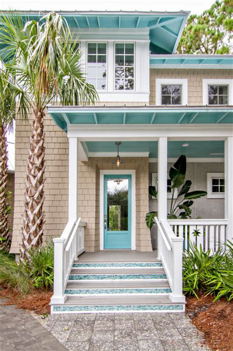 Exterior Beach House Colors | front doors beach style exterior jacksonville by