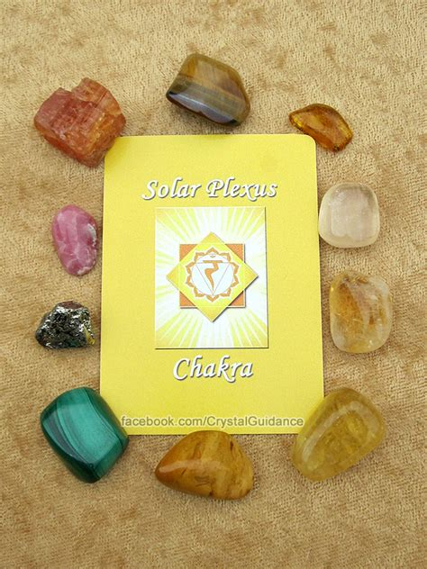 solar plexus crystals guidance guidance tip for solar