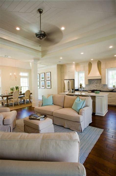 kitchen living room open floor plan paint colors 30 einrichtungsideen moderne wohnzimmer zu gestalten