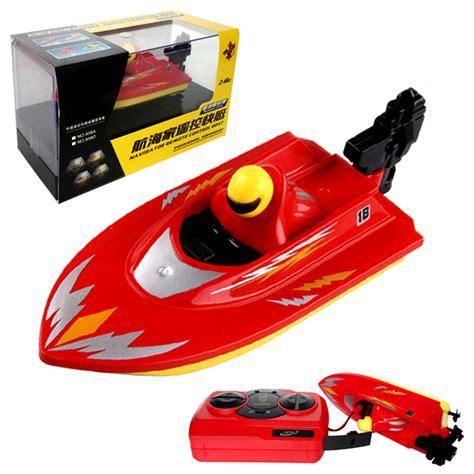 mini boat racing mini rc racing boat 2 4ghz bathtub toy tracer basin yacht
