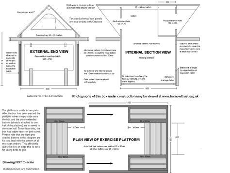 Barn Owl Bird House Plans Home Deco Plans Barn Owl House Plans
