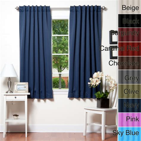 72 inch curtains insulated 72 inch thermal blackout curtain panel pair