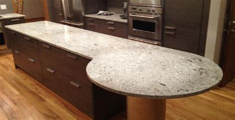 countertop materials stylish concrete kitchen countertop