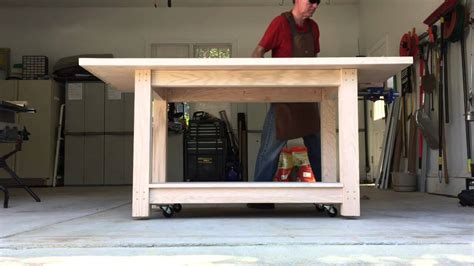 workbench casters youtube