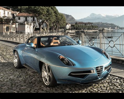 Alfa Romeo Superleggera by Alfa Romeo Disco Volante Spyder Touring Superleggera 2016