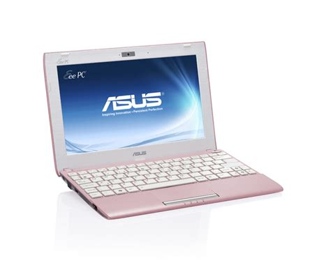 Keyboard Notebook Asus Eee Pc Series asus launches colorful slim eee pc flare netbooks and