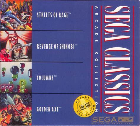 sega genesis classics collection sega classics arcade collection for sega cd 1993 mobygames