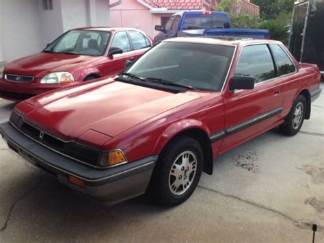 automotive air conditioning repair 1984 honda prelude auto manual 1984 honda prelude low miles