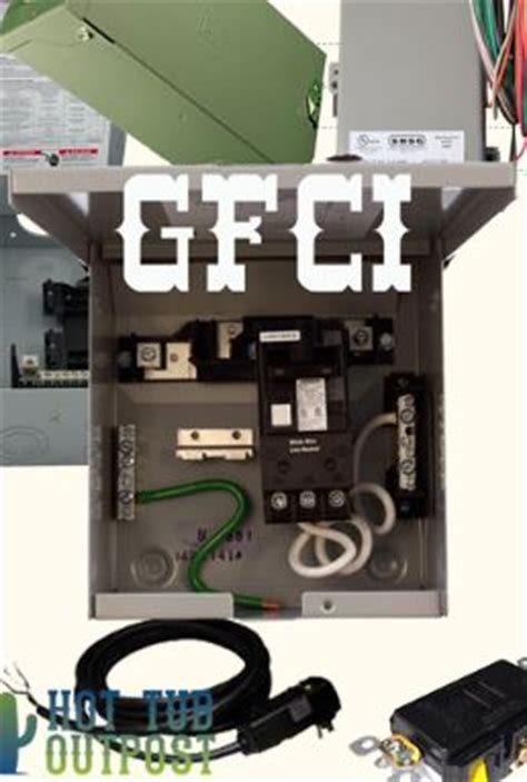 tub electrical installation hookup gfci