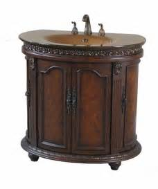 half walnut copper glass bathroom vanity sink ebay
