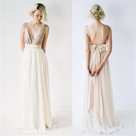 long prom dress sequin bridesmaid dress deep  neck prom