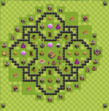 layout gambar one piece coc koleksi gambar base hybrid layout th8 terbaru dan terbaik